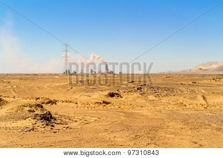 Desert Landscape In Egypt
