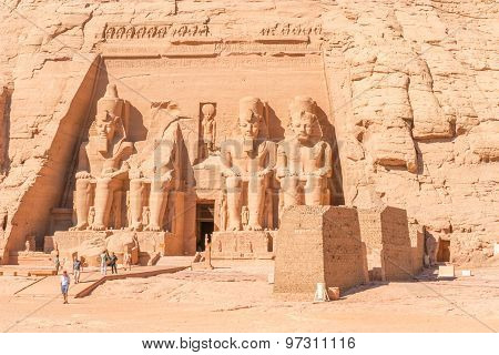 Abu Simbel Temple Of King Ramses Ii ( Egypt)
