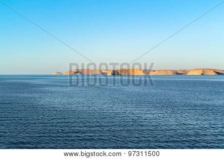 Lake Nasser In Abu Simbel
