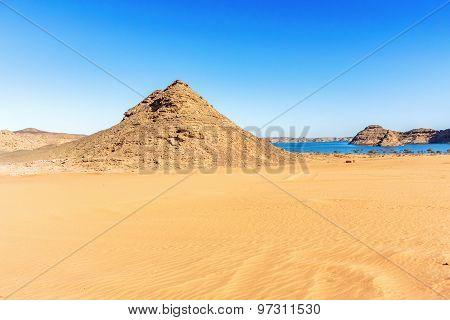 Eastern Desert And Lake Nasser In Egypt