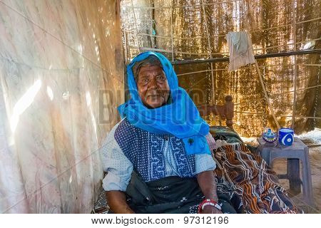 Sudanese Woman In Her House