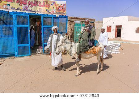 Man On The Donkey.