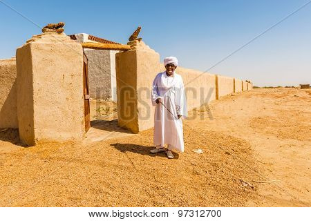 Nubian Village In Dongola, Sudan
