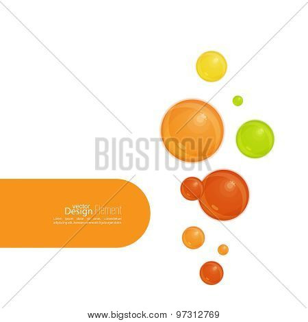 Abstract background with  soap bubbles