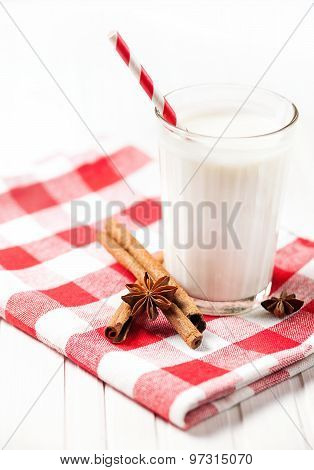 Milk With Spices