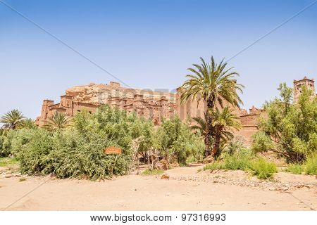 Ait Benhaddou, Morocco: general view