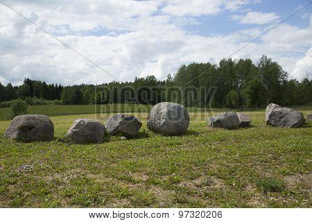Row Of The Granite Stones