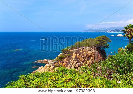 Mediterranean Coast Of Spain