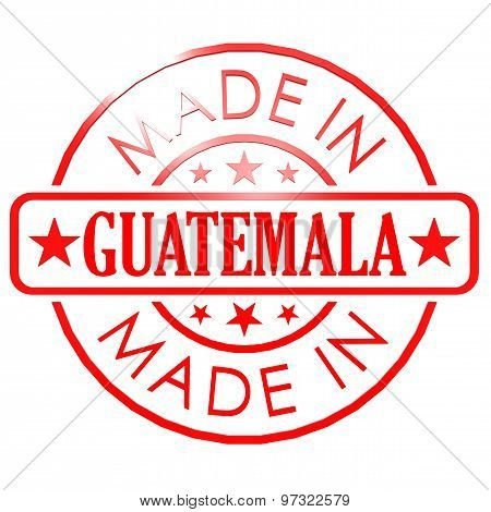 Made In Guatemala Red Seal