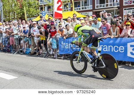 The Cyclist Jack Bauer - Tour De France 2015