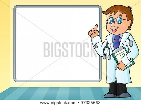 Doctor theme image 6 - eps10 vector illustration.