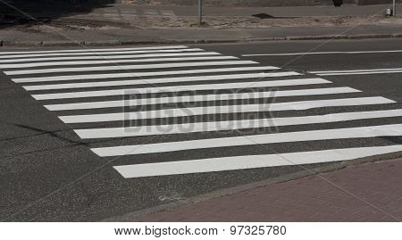 Zebra Crossing Traffic Walk Way Road Photo