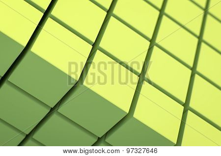 Abstract Cubic Geometric Background