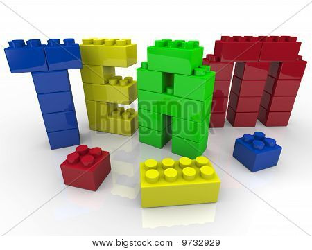 Team Building With Toy Blocks