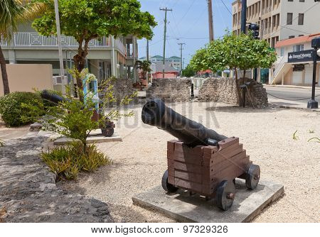 Fort George (1790) In George Town Of Grand Cayman Island