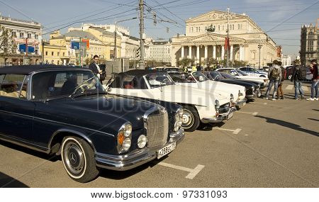 Rally Of Old Cars, Moscow