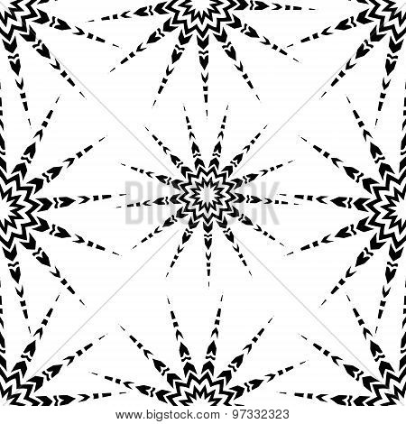 Starlight Seamless Pattern.