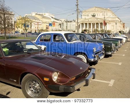 Rally Of Old Cars