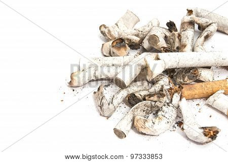 Some Different Cigarette Butts