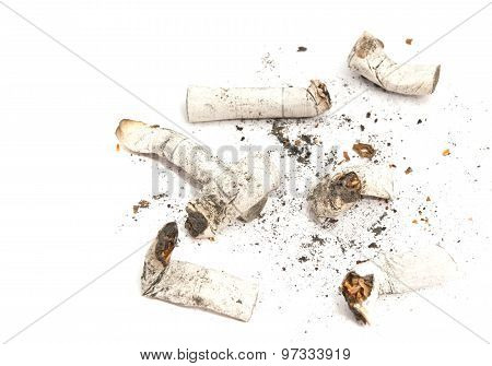 Some Cigarette Butts