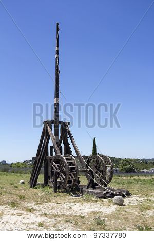 Medieval Weapon Trebuchet