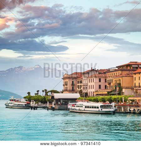 Bellagio town, Como lake