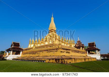 Wat Pha Tat Luang, Vientiane ,laos