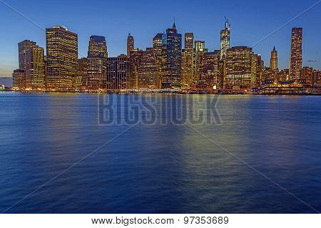 New York City Skyline From Brooklyn