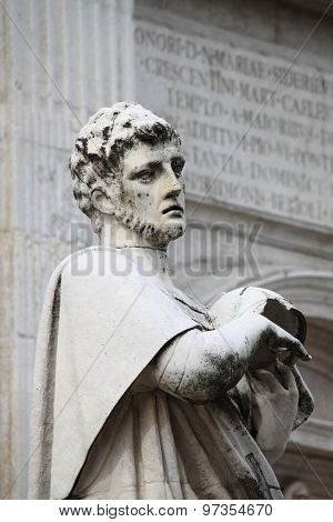 St. Crescentino Statue in Urbino