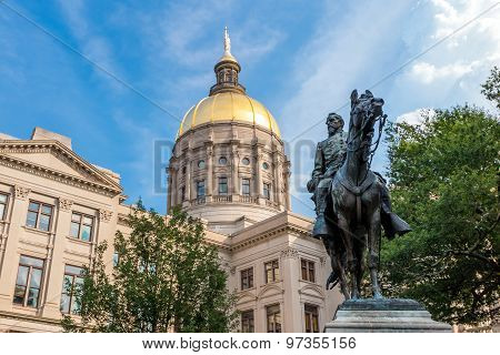 Georgia State Capitol Building In Atlanta, Georgia