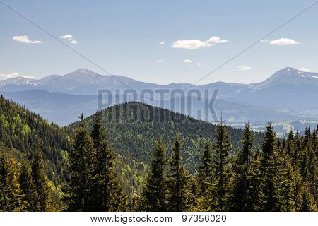 Pretty Range Of Mountains, Outdoors