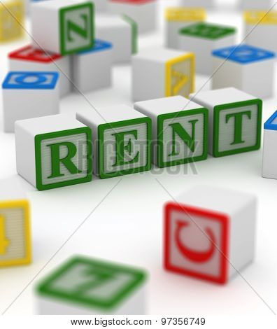 Colorful Block - Rent