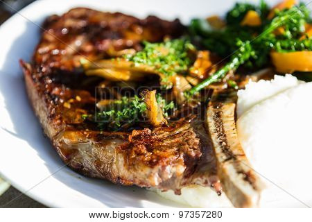 Bone In Rib-eye