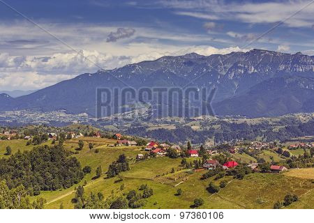 Mountain Rural Landscape