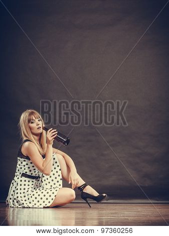 Alcoholic Woman'