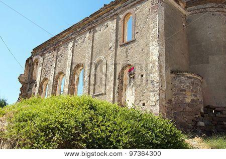 Cunda island church ruins