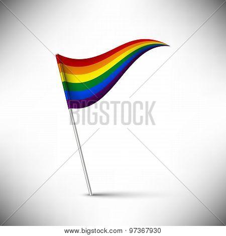 Vector Rainbow Flag