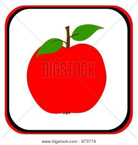 Stylized Apple