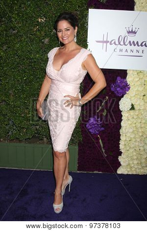 Gavin O'ConnorLOS ANGELES - JUL 29:  Tanya Memme at the Hallmark 2015 TCA Summer Press Tour Party at the Private Residence on July 29, 2015 in Beverly Hills, CA