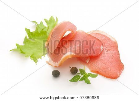 Slices Of Pork Balyk