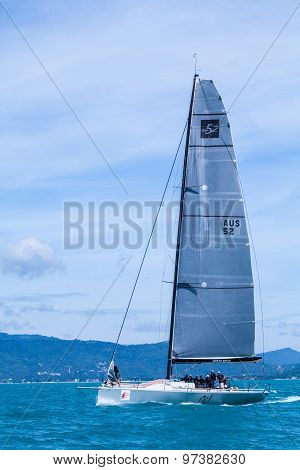 Samui Regatta 2015, Thailand - May 25 : Event At Chaweng Beach ,koh Samui Island ,thailand May 25, 2