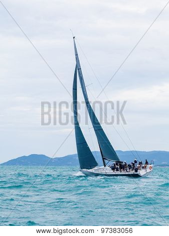Samui Regatta 2015, Thailand - May 26 : Event At Chaweng Beach ,koh Samui Island ,thailand May 26, 2