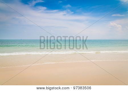 Blue sea and sky