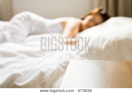 Woman Taking A Nap