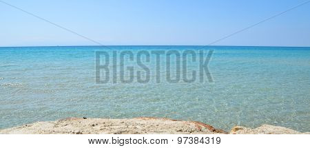 Beautiful Crystalline And Transparent Mediterranean Sea
