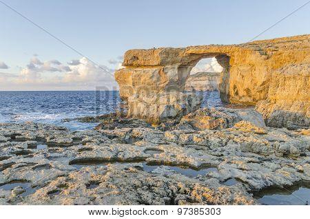 Azure Window in Dwejra, Gozo, Malta