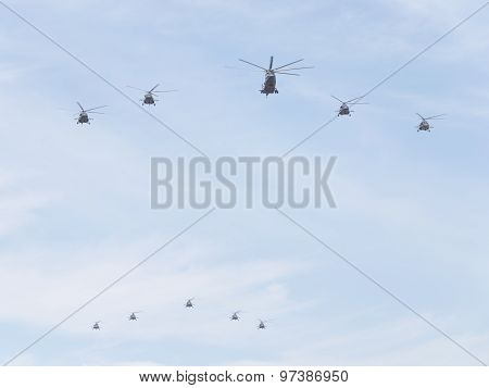 Military Helicopters, The Russian Air Force