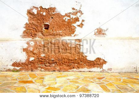 Milan   Italy Old Church Concrete Wall    Background Stone