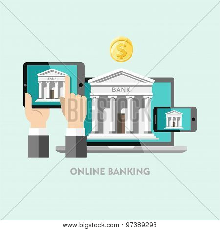Banking. Concepts of online banking.