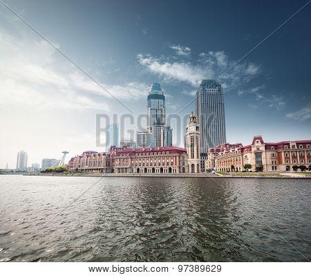 Beautiful Waterfront City